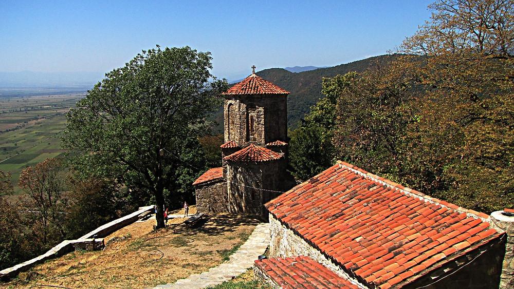Monastery near Kvareli, Kakheti, Georgia