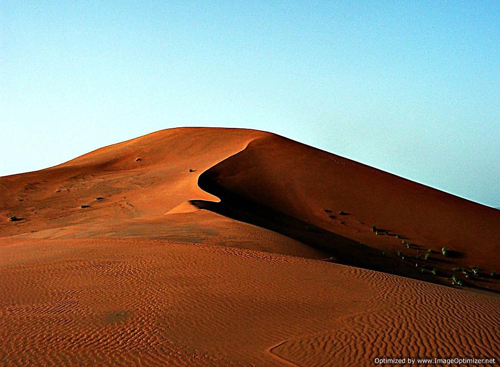 The Sahara desert, Merzouga, Morocco