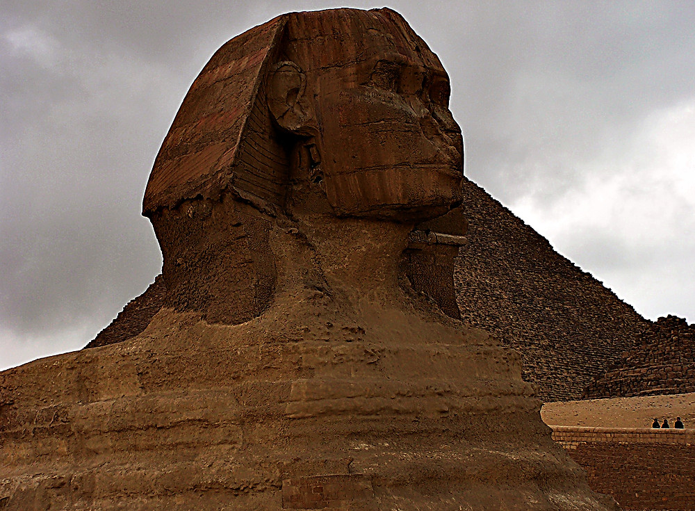 The Sphynx: one of the world's oldest statues, Cairo, Egypt