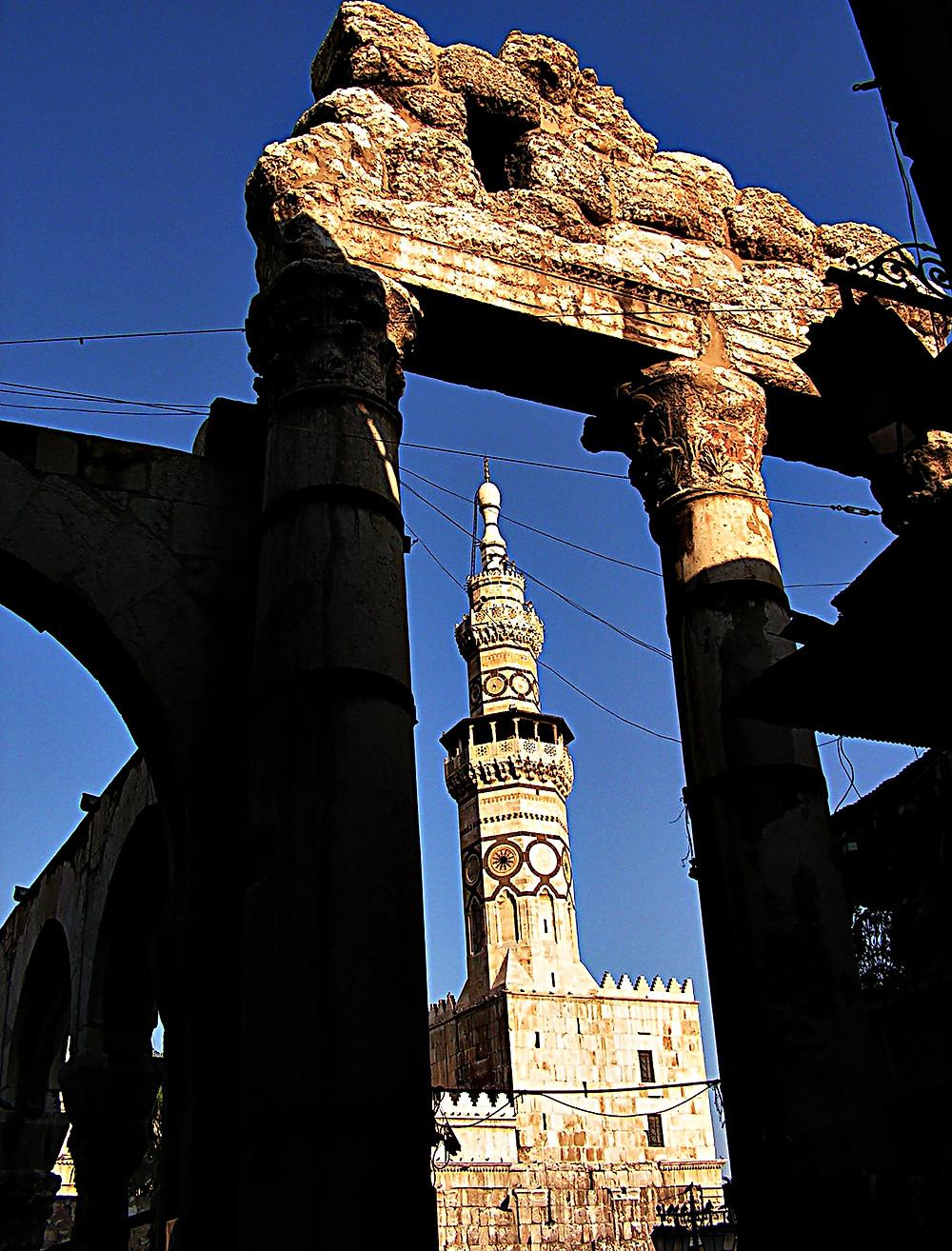 Minaret, Umayyad Mosque, Damascus, Syria