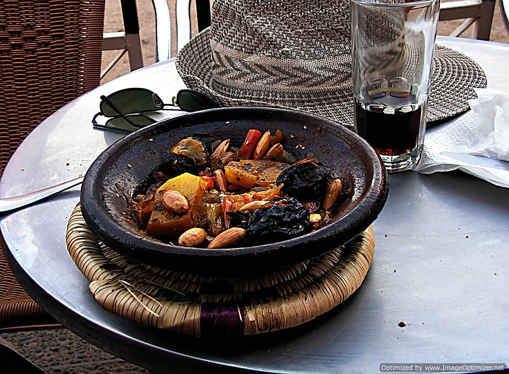 Tagine dish, Morocco