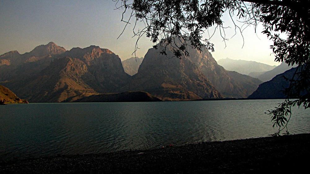 Fann Mountains, Lake Iskanderkul, Tajikistan