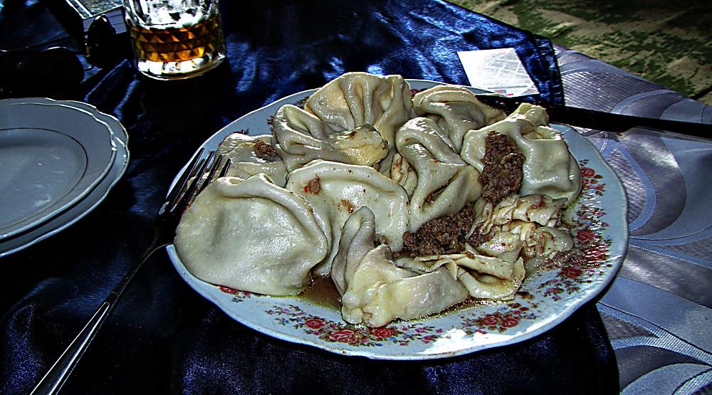 Georgian food: Khinkali