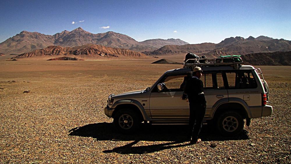 Jeep, Pamir Highway, Tajikistan