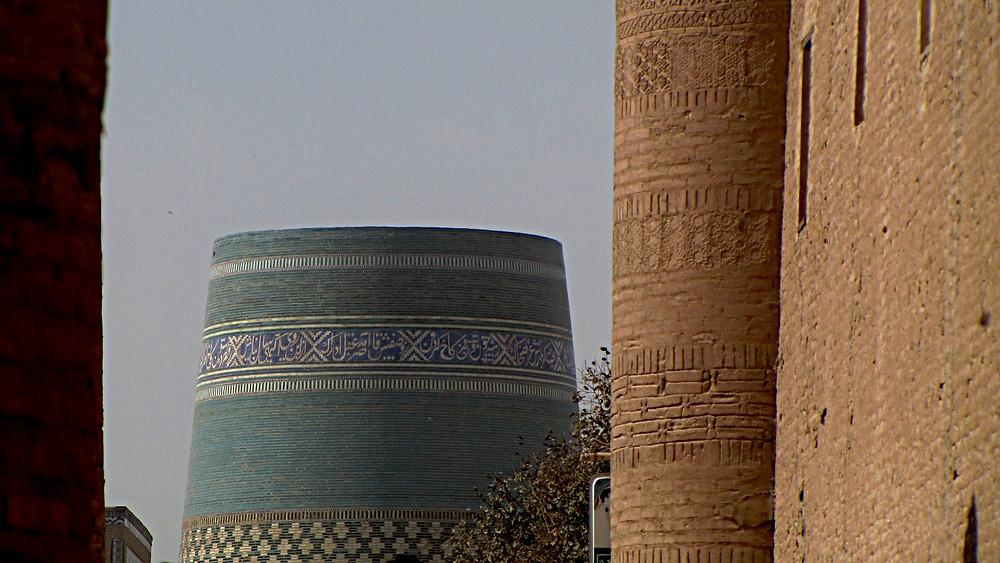 Kalta Minor Minaret detail, Uzbekistan