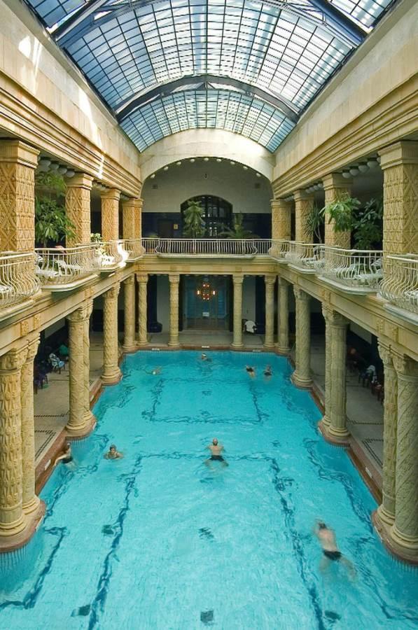 Gellert baths, Budapest - interior