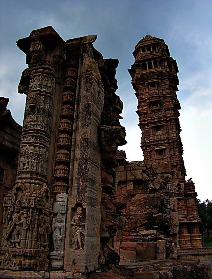 Vijaya Stambah Tower, Chittorgarh fortress