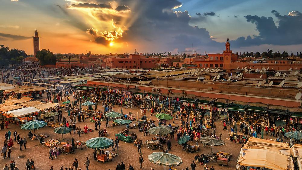 The High Atlas, central Morocco