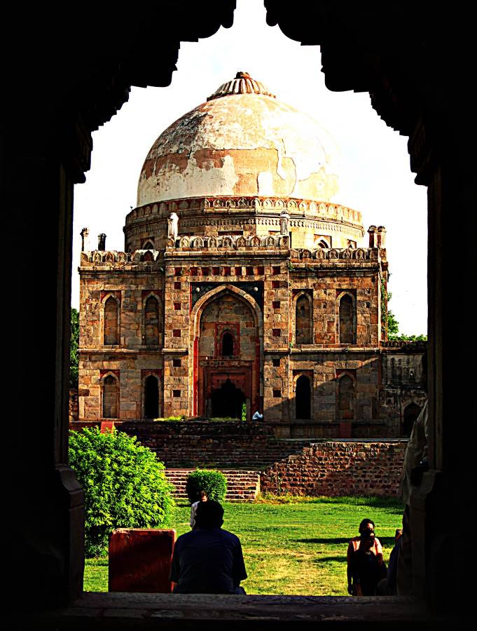 Mausoleum in a Lodhi Gardens, Delhi, India