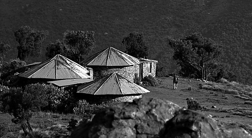 Debark campsite, Simien mountains, central Ethiopia