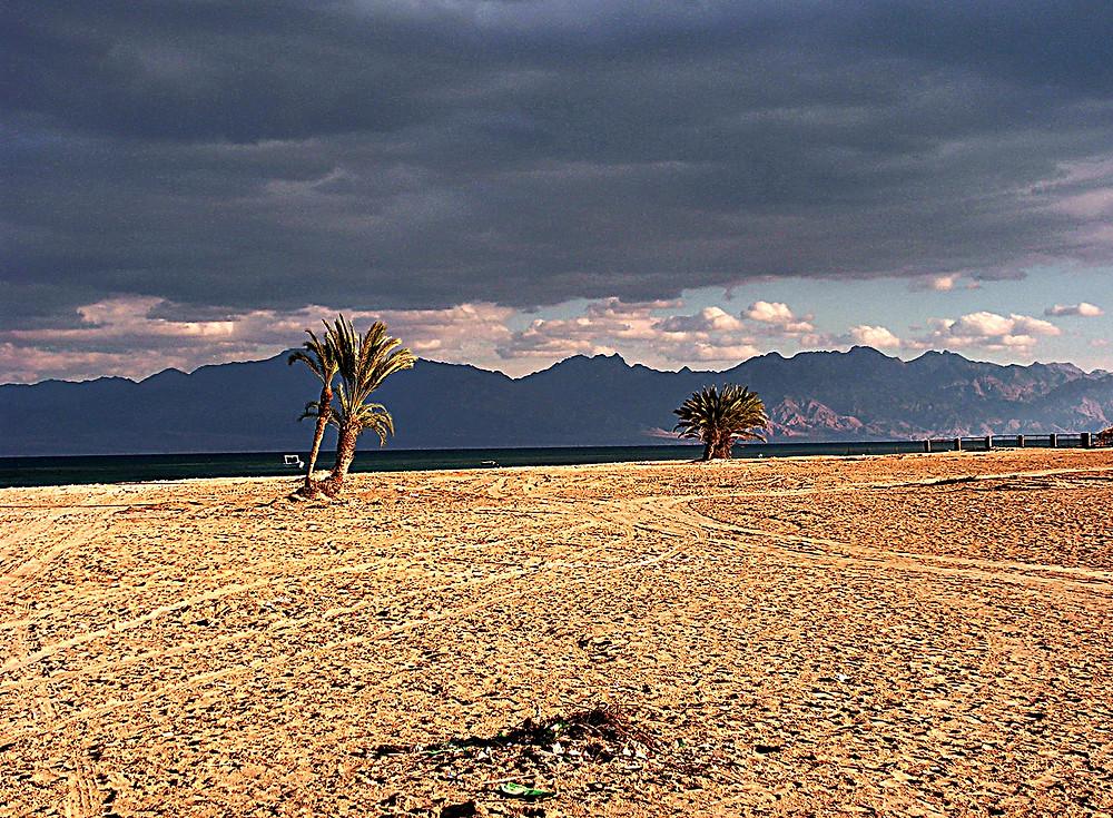 Beach at Nuwaiba, Sinai, Egypt