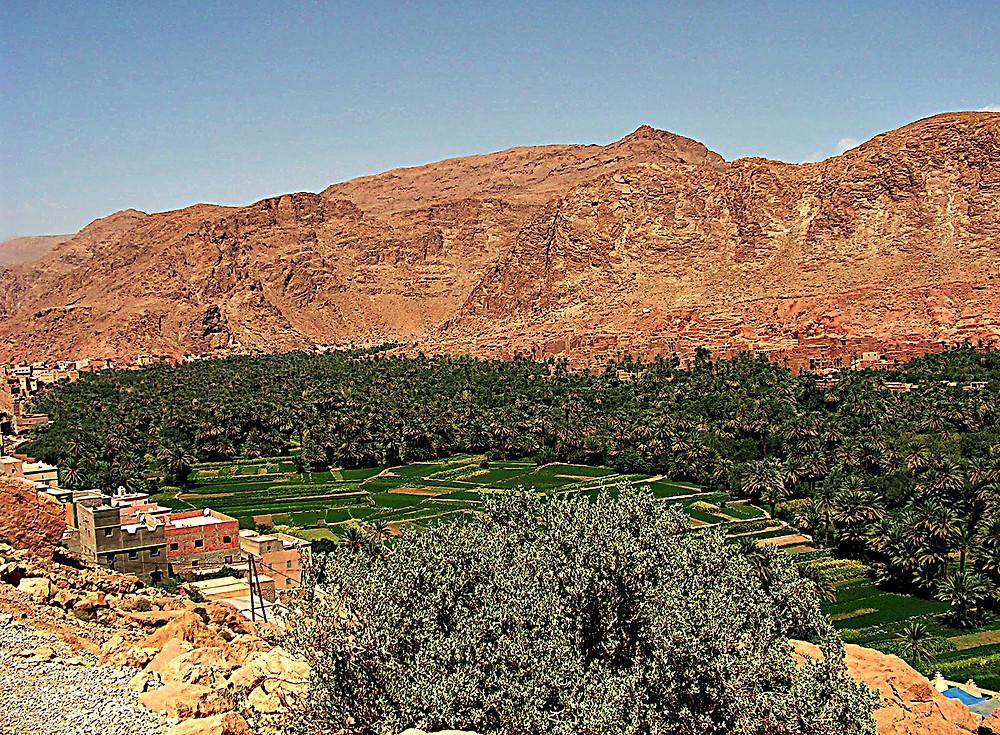 Scenery around Midelt, central Morocco