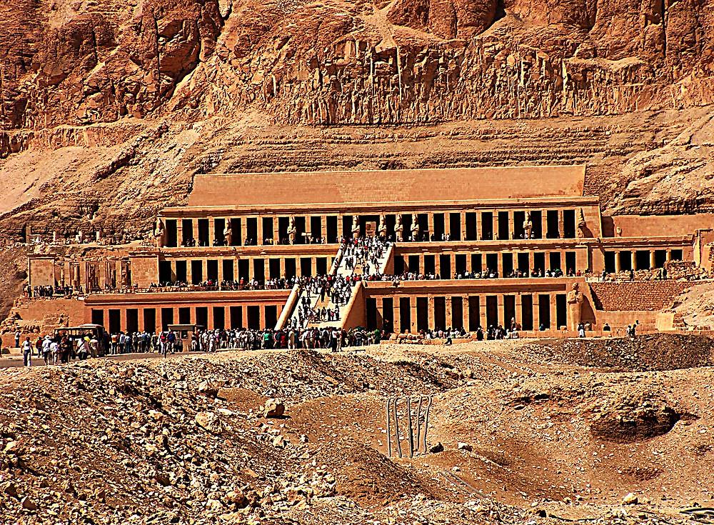 Hapshepsut Temple, Luxor, Egypt