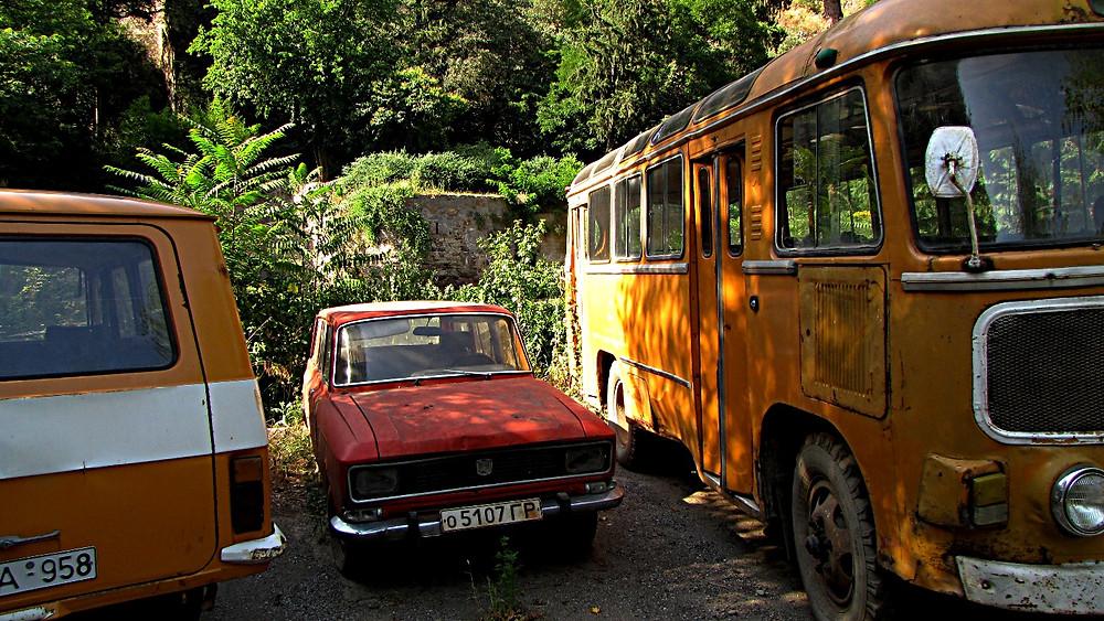 Transport options, Tbilisi, Georgia