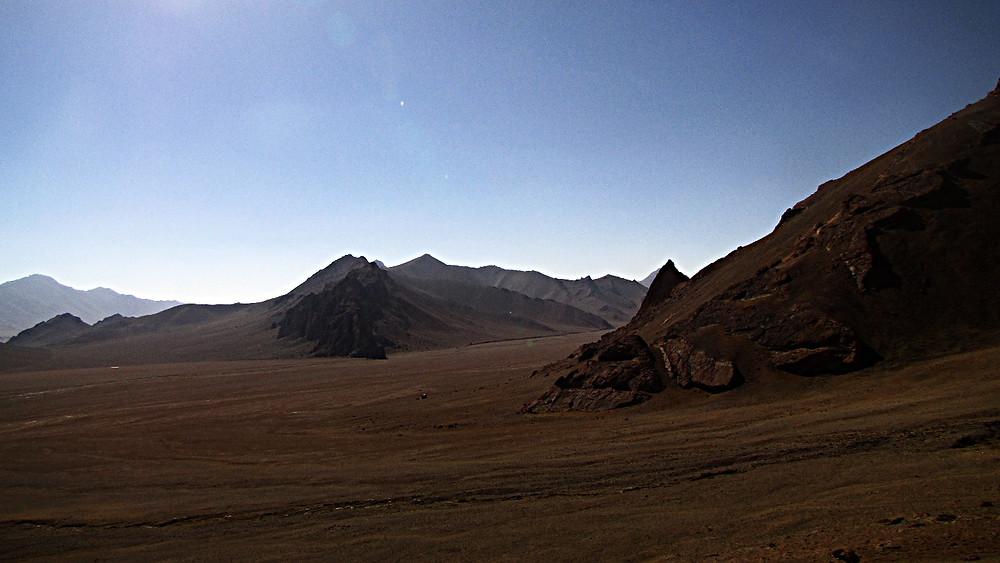 Pamir Highway, near Karakul, Tajikistan