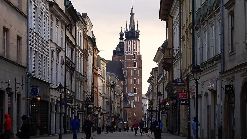 Florianska Street, Krakow