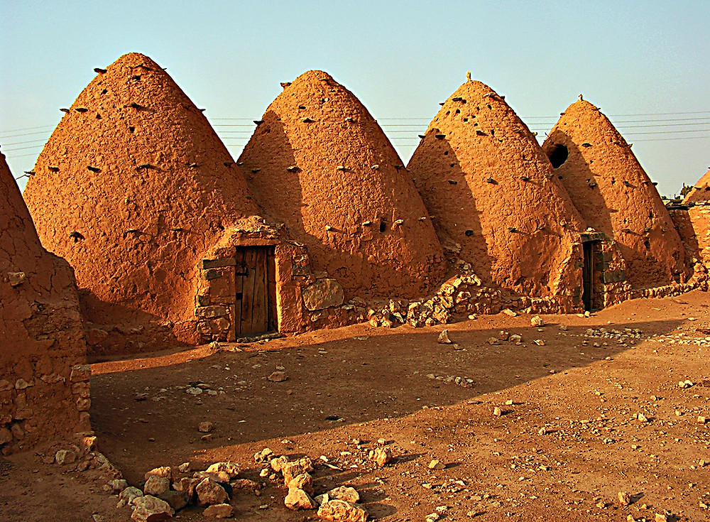 'Beehive houses', Sarouj, near Hama, Syria
