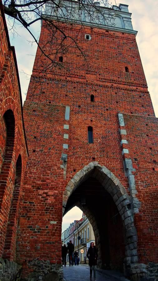 Opatowska Gate, Sandomierz