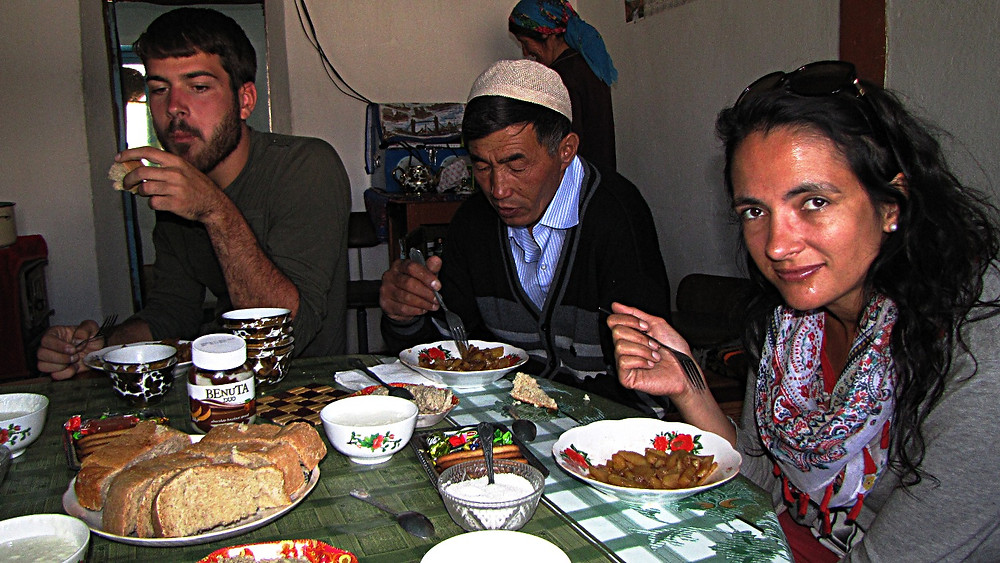 Tajik food and drink, Pamir Highway, Tajikistan