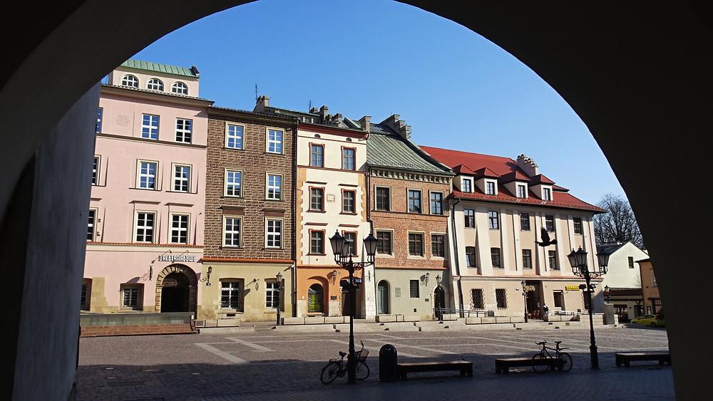Maly Rynek, Krakow in time of corona