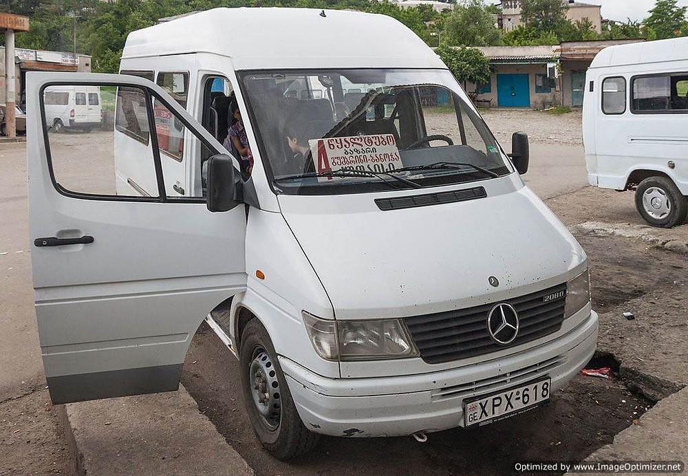 Mini bus (marshrutka), Armenia