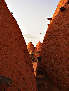 'Beehive houses' near Hama, Syria