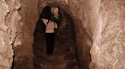 Tunnels of Lalibela, Ethiopia
