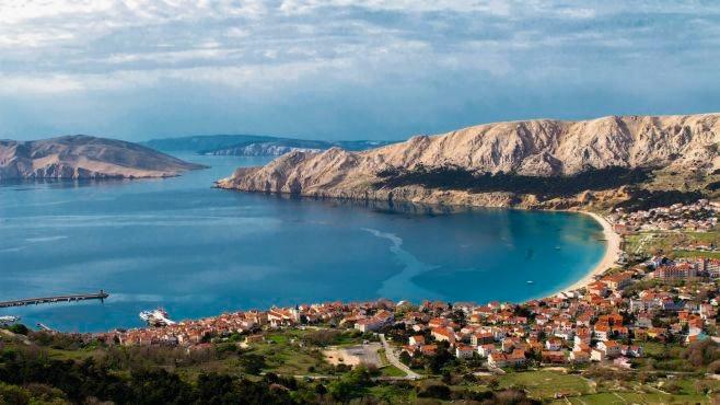 Krk Island - port