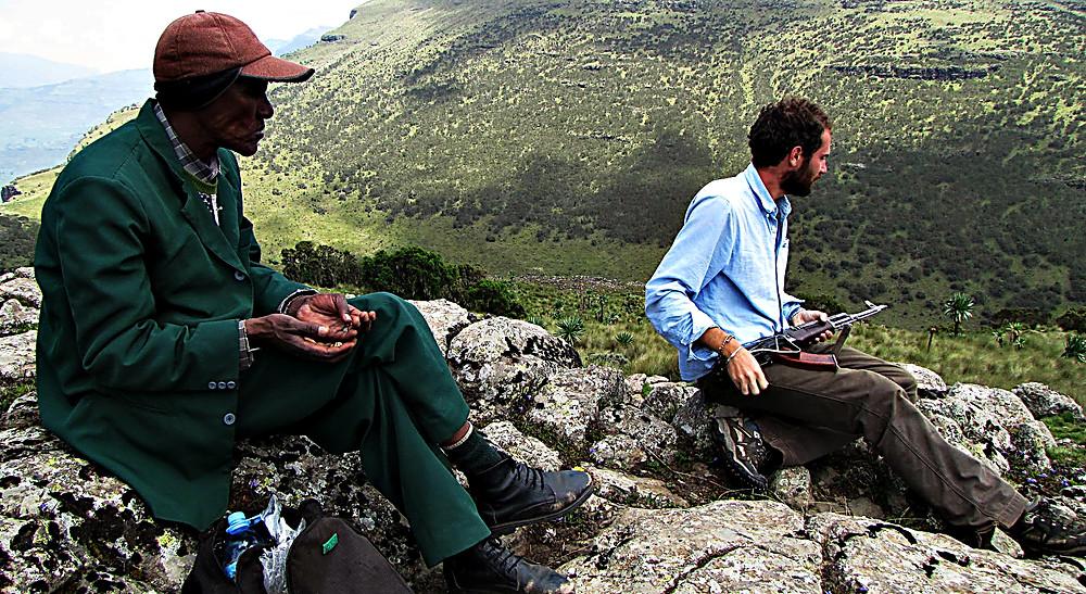 Simien mountain guide, central Ethiopia