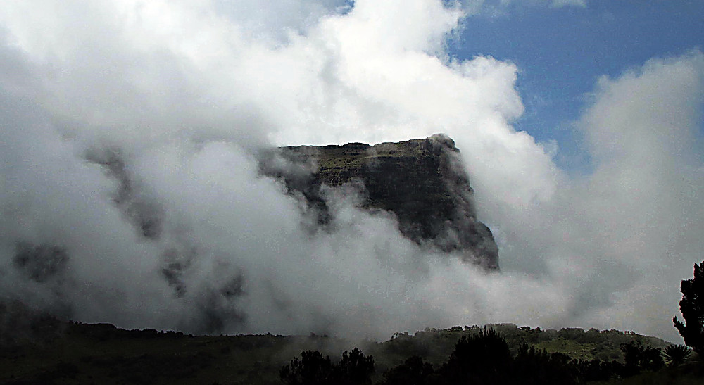 View near Debark campsite, Simien Mountains, Ethiopia
