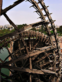 'Norias' (water wheels), Hama, Syria