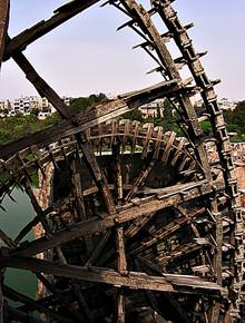 'Norias' (water wheels), Hama, Syria