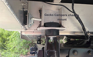 Gecko Campers chassis mount