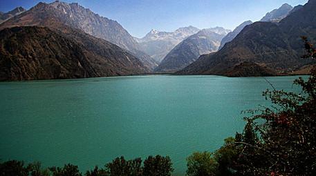 Lake Iskanderkul, Fann Mountains, Tajikistan