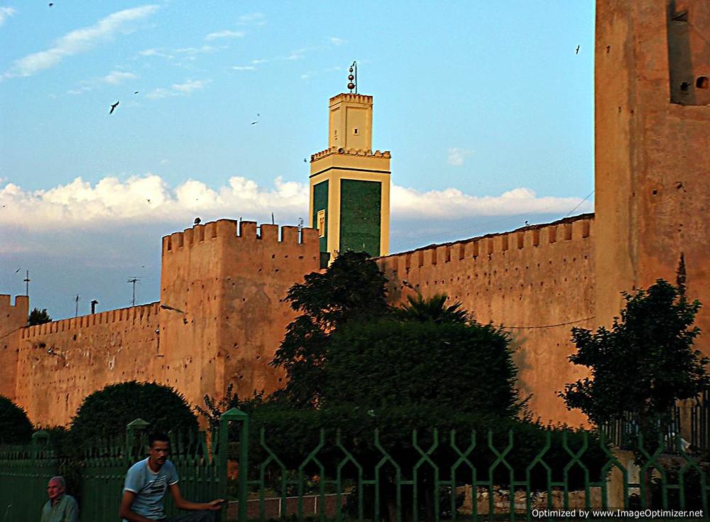 Meknes city walls, Morocco