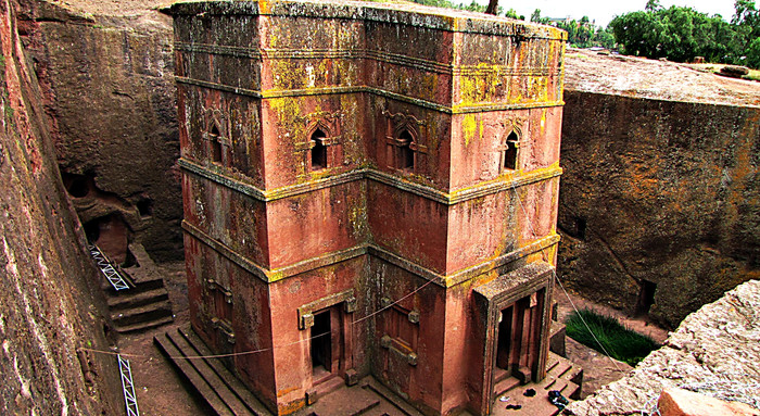 Church of St. George, Lalibela, Ethiopia