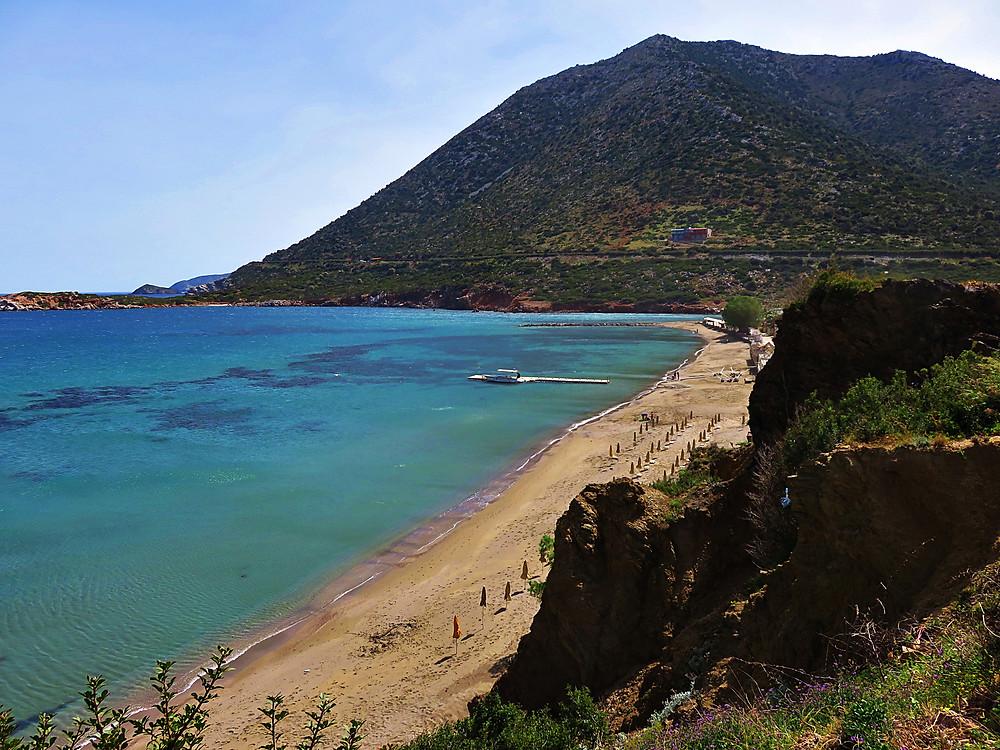 Livadi beach, Bali, northern Crete