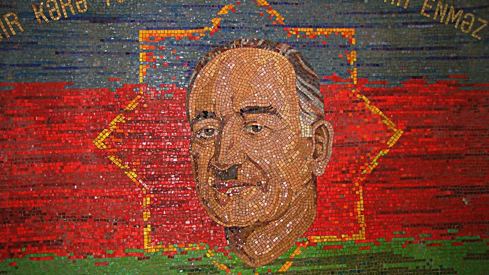 Baku metro mosaic