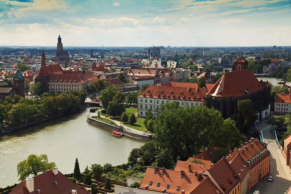 Ostrow Tumski, Wroclaw