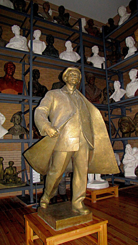 Lenin statue, Zair Azgur museum, Minsk, Belarus