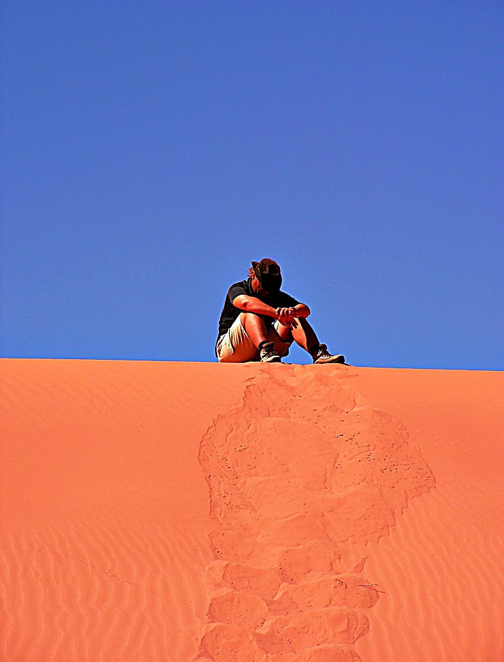Dune: the distinctive red sands of Wadi Rum, Jordan