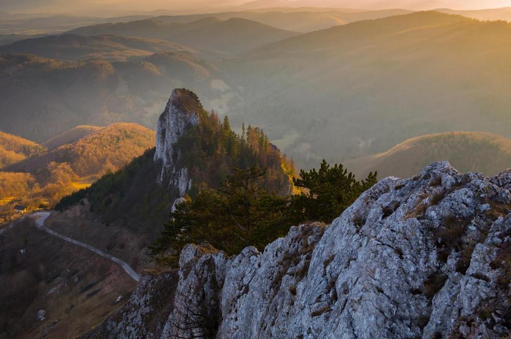Vršatské bral rocks, Trencin, Slovakia