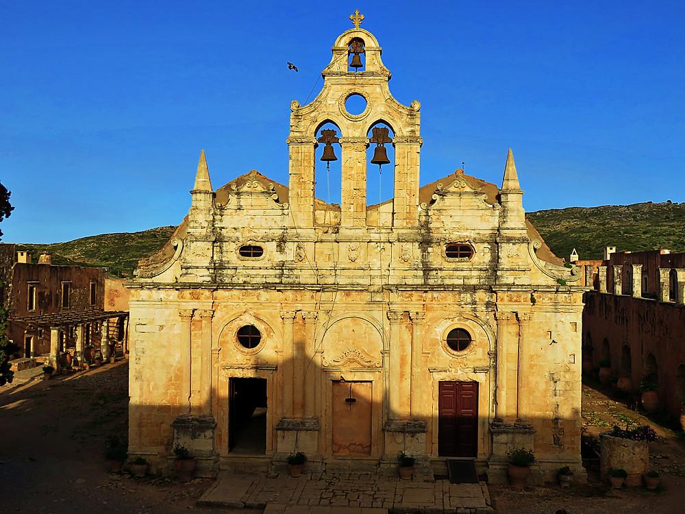 Arkadi Monastery, north Crete