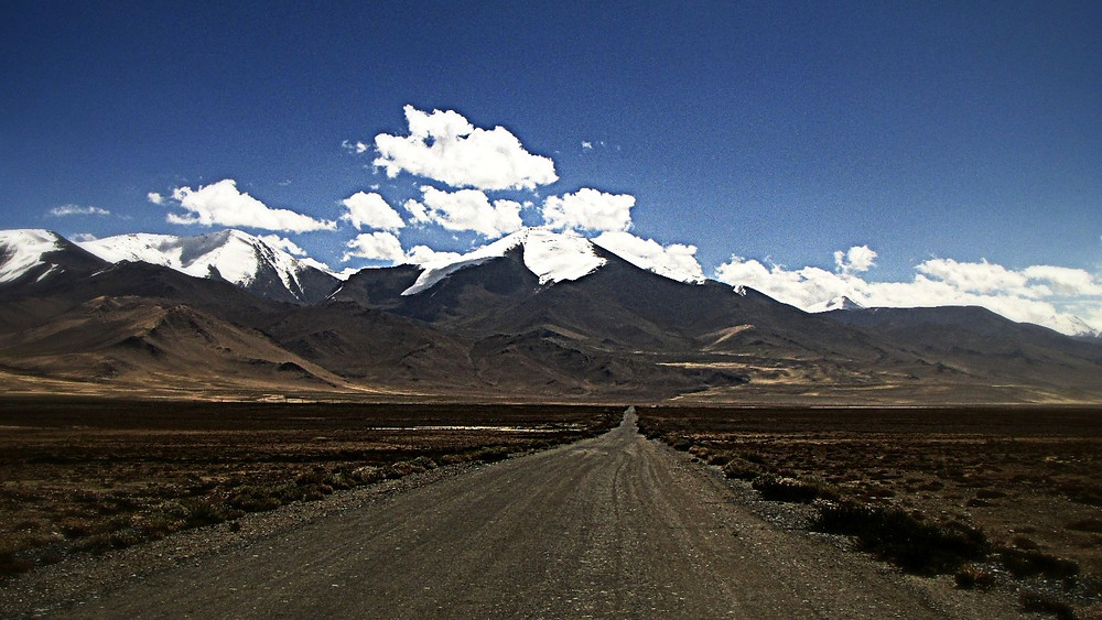 Pamir Highway near Murghab, Tajikistan