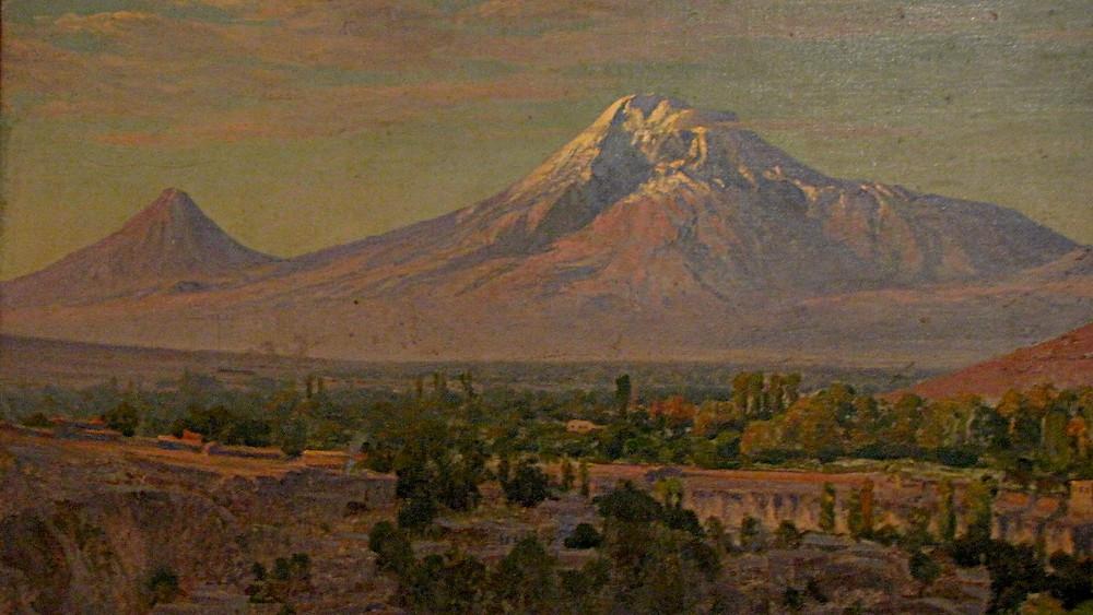 Painting of Mount Ararat