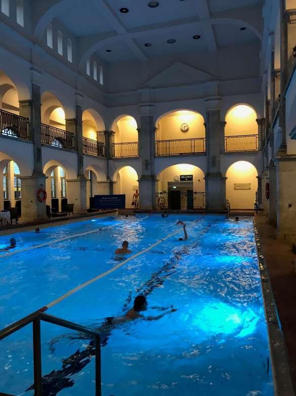 Rudas baths, Budapest - interior