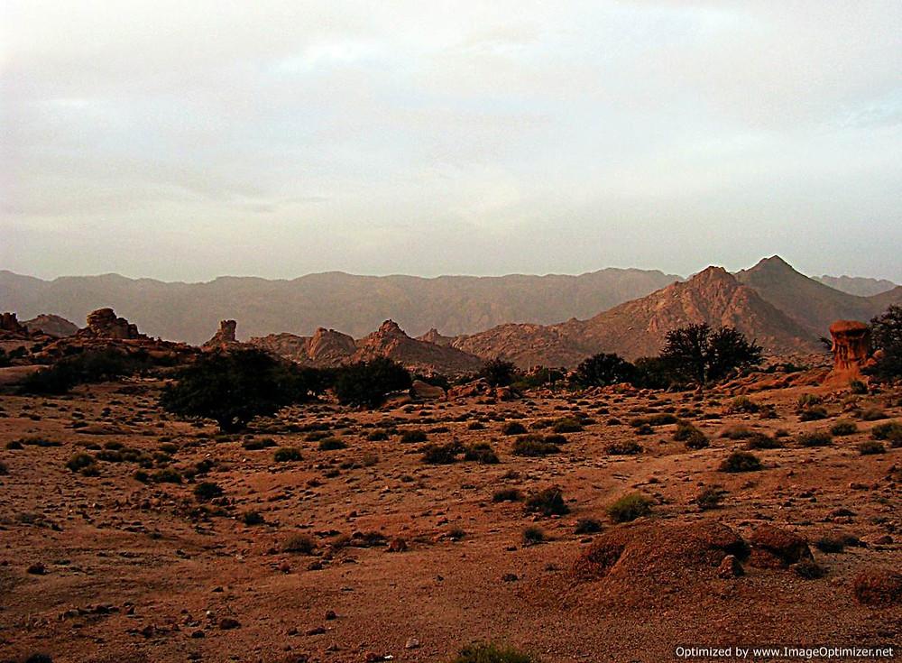Tafraoute area, Morocco