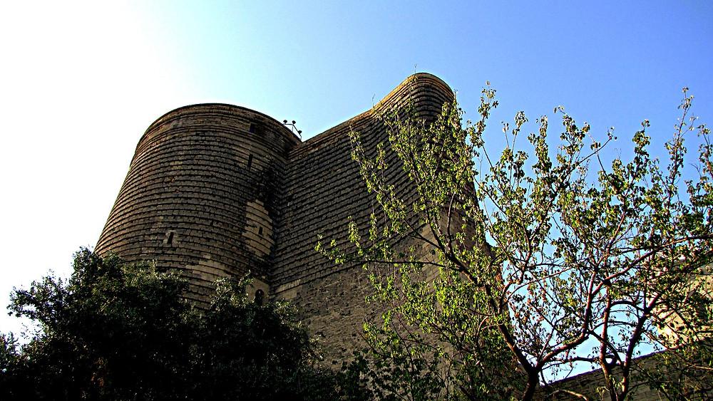Maiden Tower, Baku old town, Azerbaijan