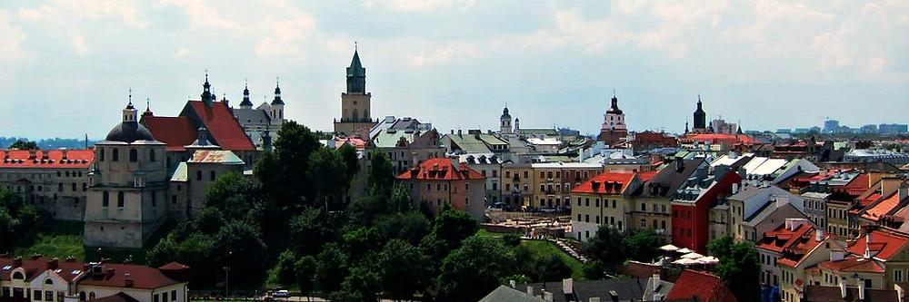 Lublin skyline