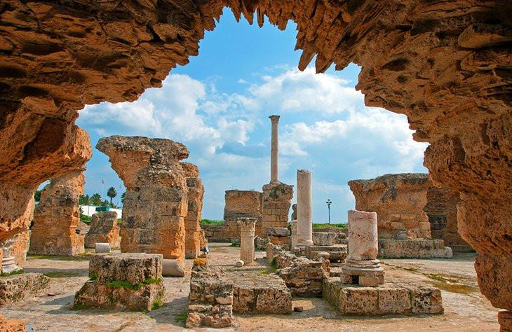Antonine Baths, Carthage